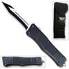 Unique OTF Tanto Legacy Edge OTF Knife  Tanto Edged Blade Black