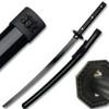 Black Bushido Samurai Sword of War - Full Tang Battle Ready