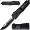 Straight Edge Demolisher OTF Knife - Clip Plain USA