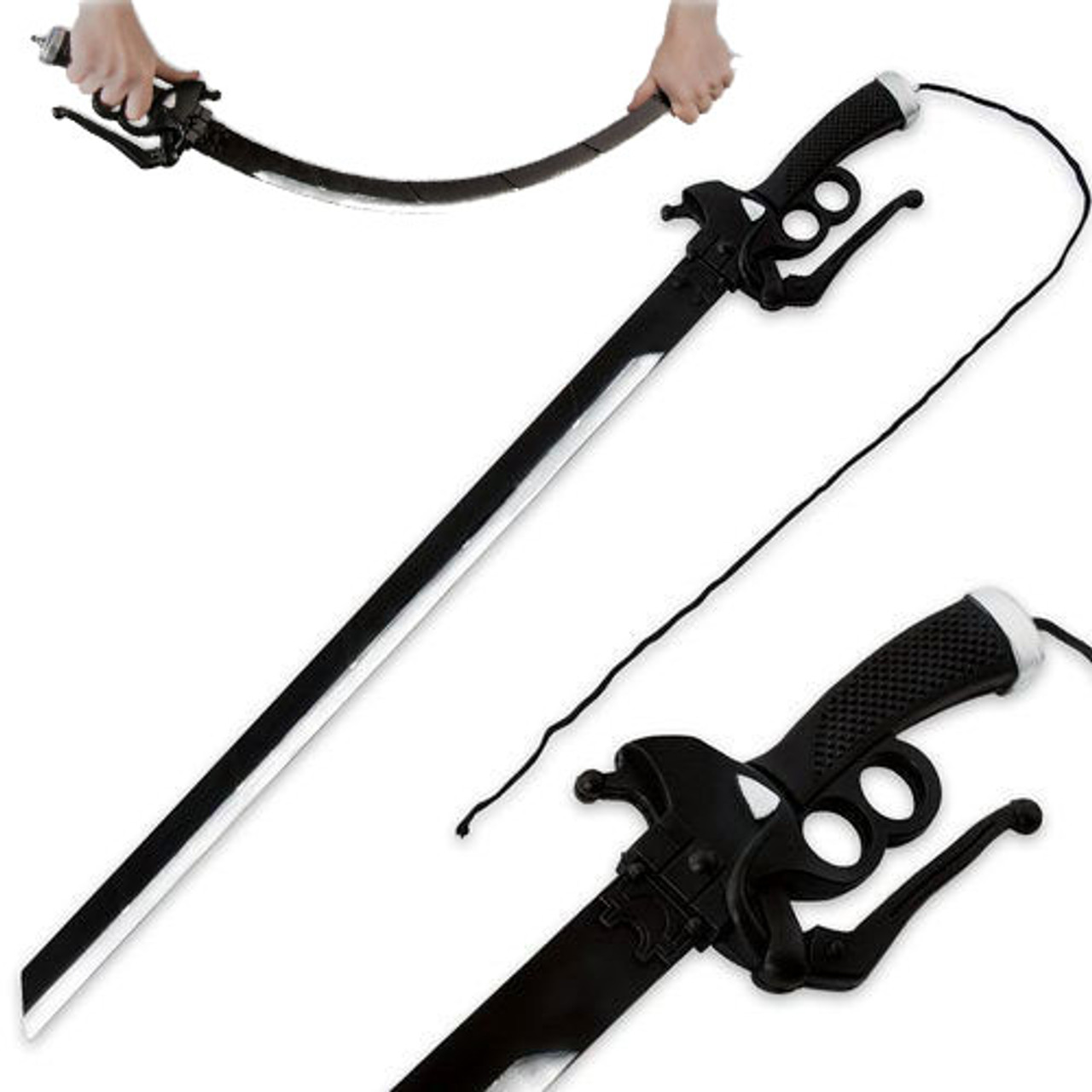 Special Operations Foam Titan Attack Gaming Costume Play Eren Sword