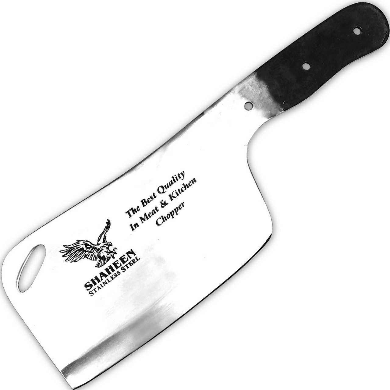 Shaheen Heavy Knife Blank Chef Chopper Meat Cleaver Kitchen Cutlery Butcher