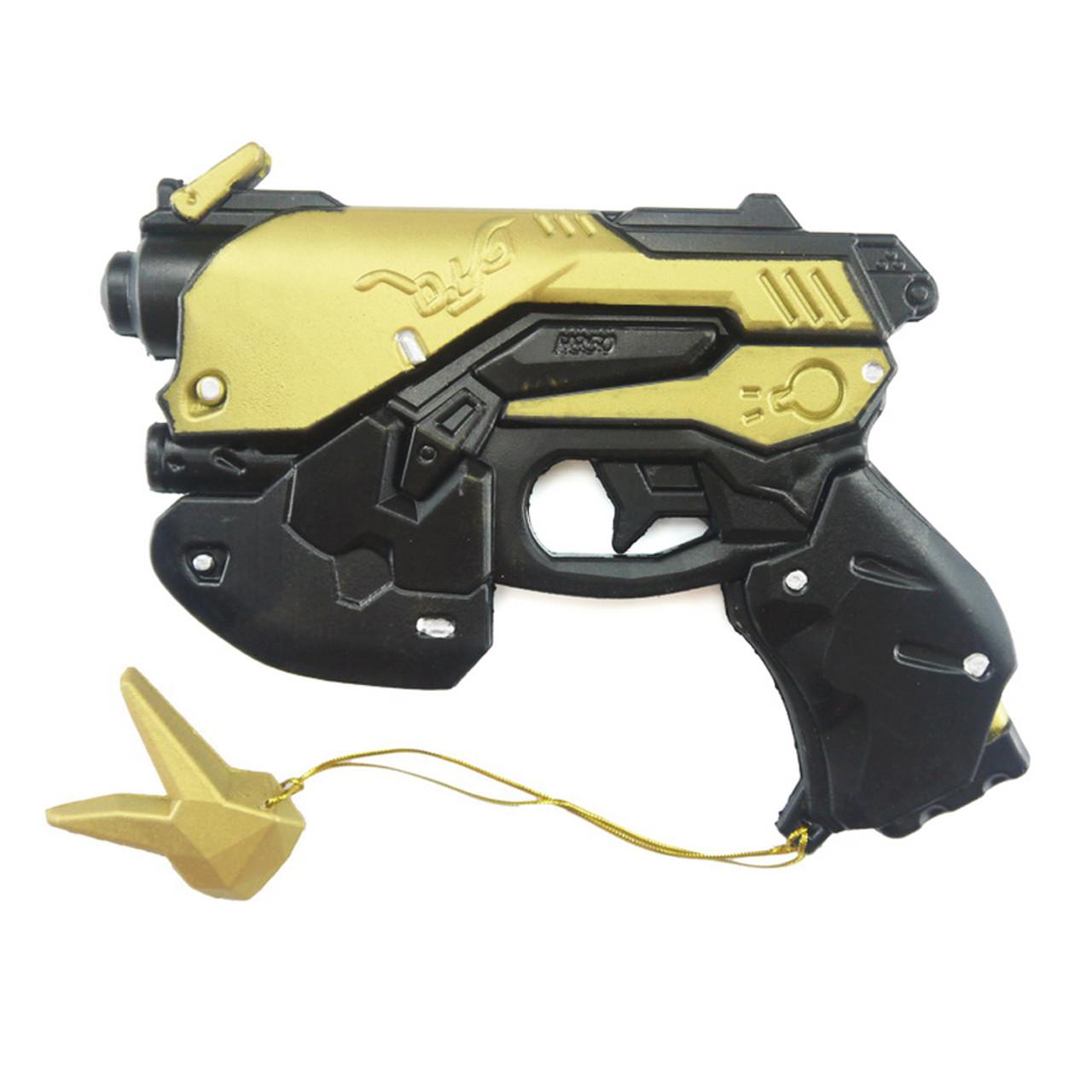 D.VA Foam Pistol Cosplay Gun Costume Accessories GOLD