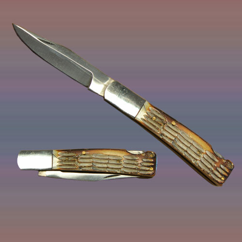 Bone Handle Pocket Knife