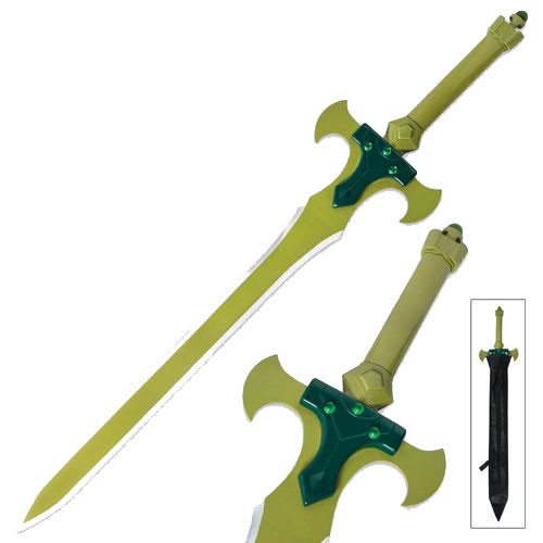 SAO Holy Sword Excalibur Kirito Sword Art Online Anime | Alfheim