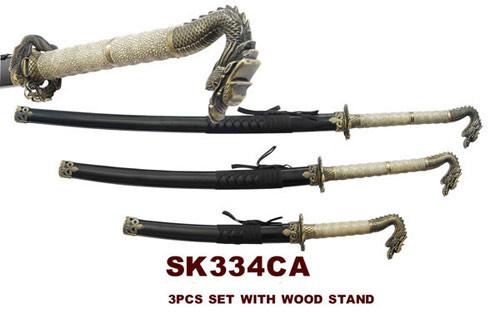 3 Pcs Drgon Sword Set