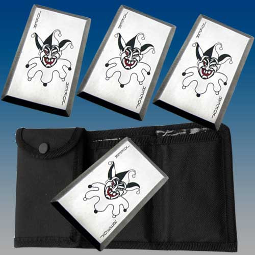 Joker Throwing Card Set