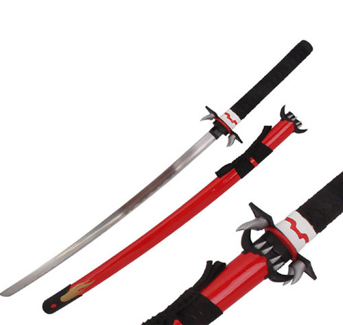 Saya C Sacred Ultra Blood Red  replica Sword Fang