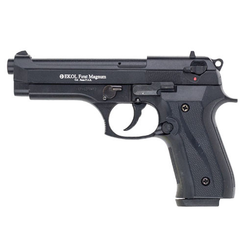 Firat Magnum 92 Blank Firing Replica Gun Black Finish