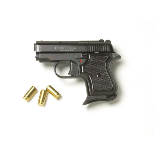 Replica Tuna 950 JF Blank Firing Pistol Black Finish 8mm