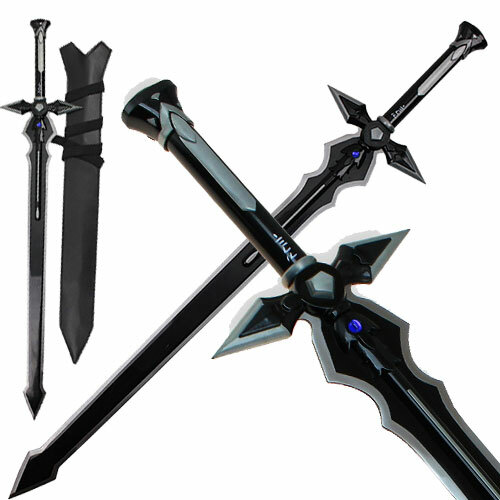 Sword Art Online Kirigaya Kazuto Kirito Dark Repulsor Sword