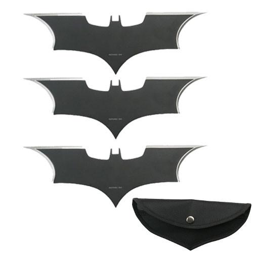 Batarang Throwing Knives 3 pcs set
