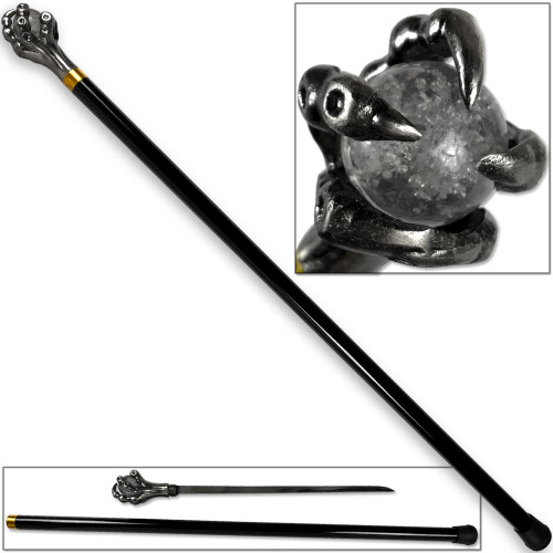 Epic Dragon's Grasping Claw Walking Cane Sword