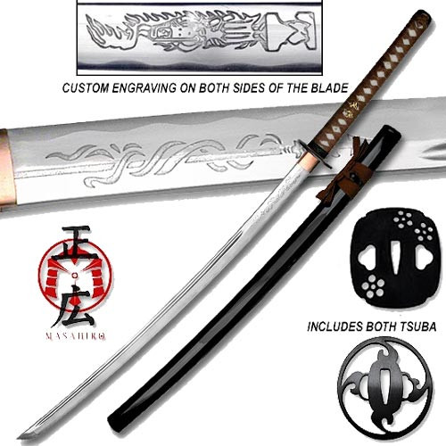 Masahiro - Shadow Warrior Handmade Katana - Plum Edition