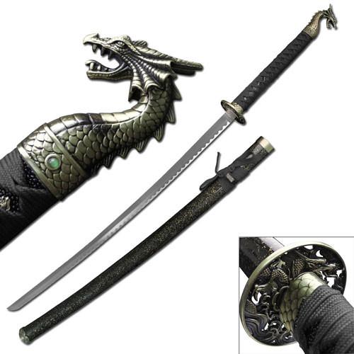 dragon slayer katana Sword Black