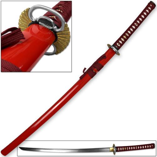 Kenpo Full Tang Blood Lust Katana