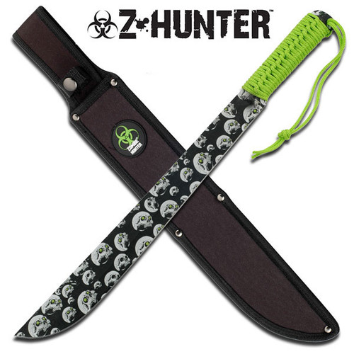 Zombie Hunter Combat Survival Fight Machete Sword Knife