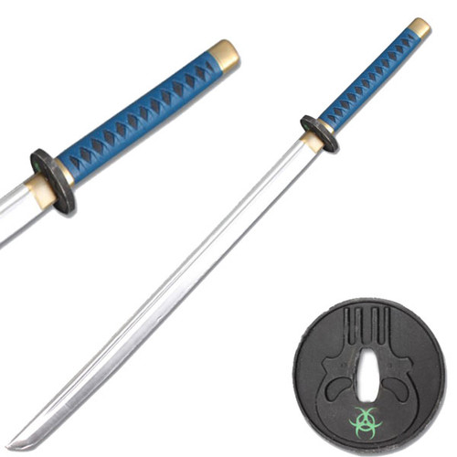 Sparkfoam BLUE/BLACK GUARD FOAM SAMURAI SWORD