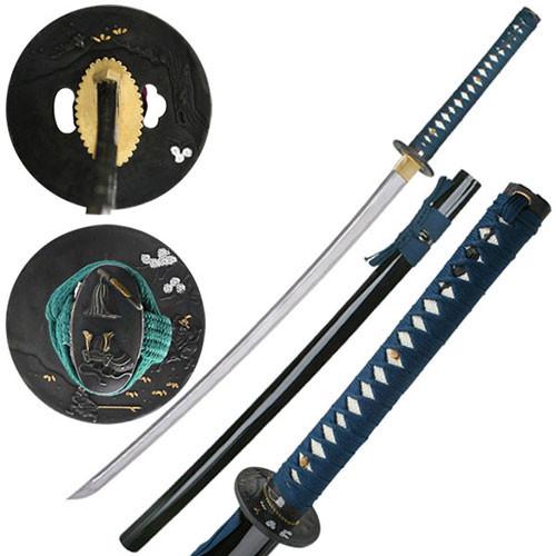 "Hand Forged Samurai Sword 40.9"" Overall Hand Made"
