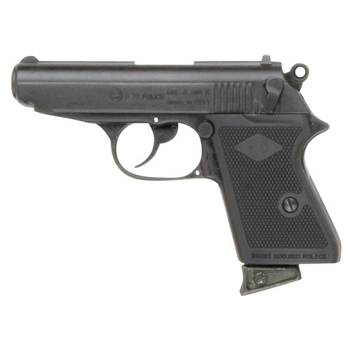 Replica James Bond Style Black 8MM Blank Firing Automatic Gun (CLONE of Walther PPK)
