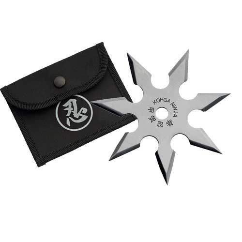 7 Blades Throwing Star Sliver