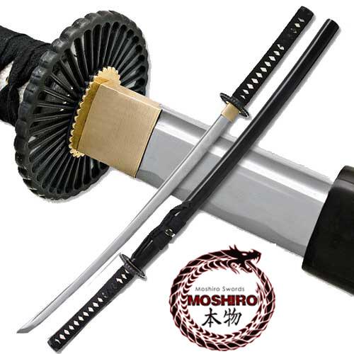 MOSHIRO Unsharpened Iaito Training Katana Sword