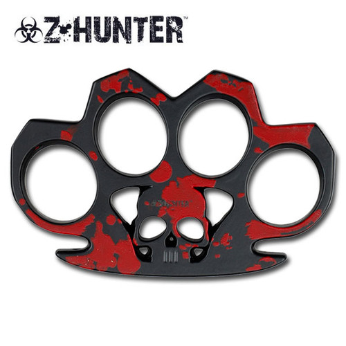Z Hunter Skull Red Duster Belt Buckle Paper Weight