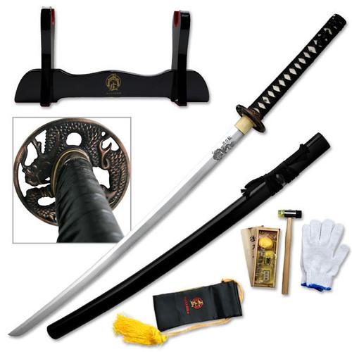 "Masahiro MAZ-018 Hand Forged Samurai Sword 41"" Overall"
