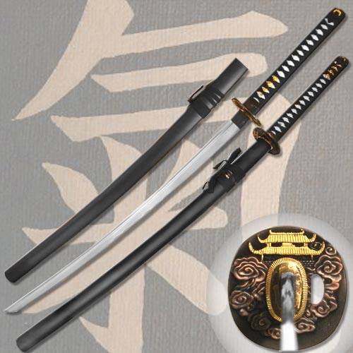 1045 Carbon Steel  Blood Groove Samurai Katana