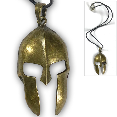 300 Movie Spartan Helmet Necklace