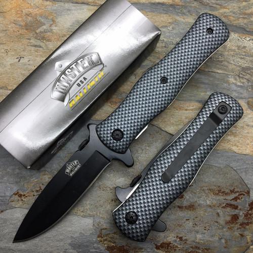 "8"" MASTER USA TACTICAL FOLDING SPRING ASSISTED KNIFE Blade Pocke"