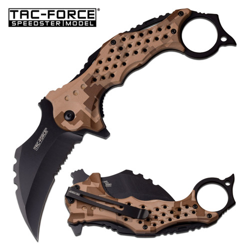 Speedster Tactical Mammoth Karambit Knife