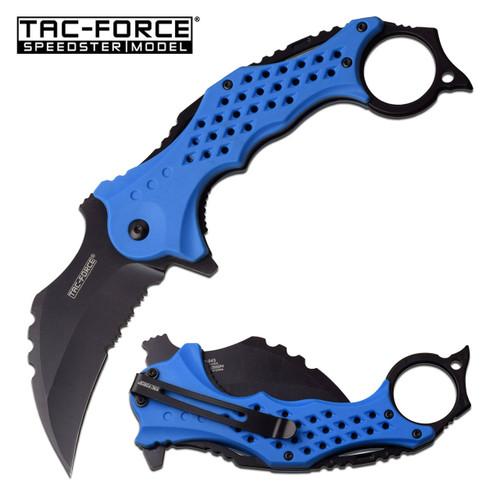 TAC FORCE Speedster Tactical Mammoth Karambit Knife
