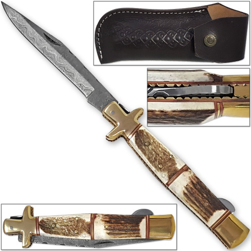 Tall Mans 11.25in Sicilian Damascus Knife