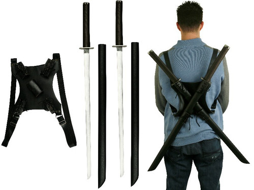 Deadpool Katana Set Carbon Steel Swords