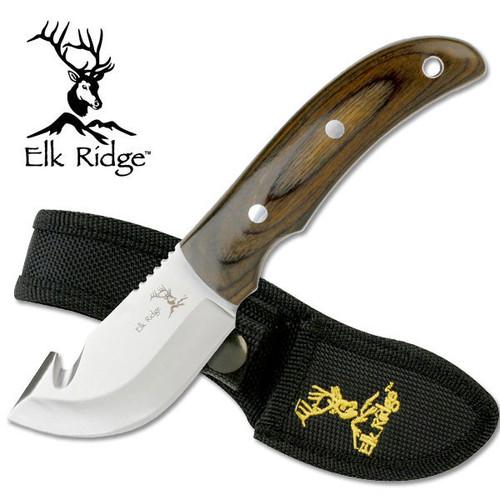 Elk Ridge Custom Mini Skinner Alloy Stainless Steel Guthook Knife