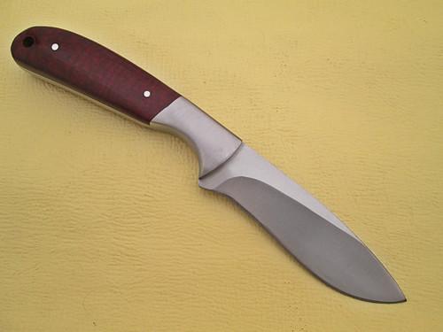 WHITE DEER Pot Belly J2 Steel Skinner Knife Hunters Micarta Grip Drop Point