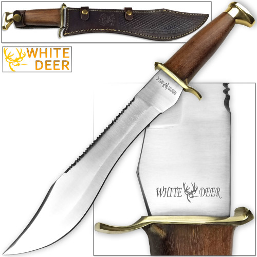 WHITE DEER MAGNUM Dave Dundee Bowie Knife