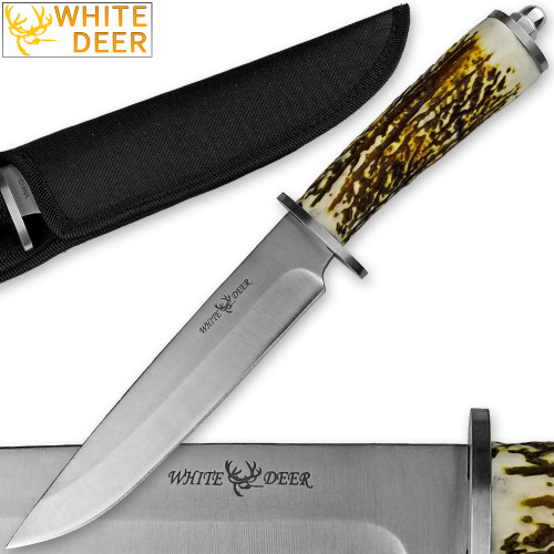 WHITE DEER Apprentice 12.5in Knife 440 Stainless Steel