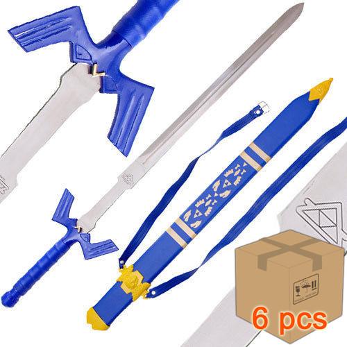 Case of 6pcs Zelda Link's Master Sword