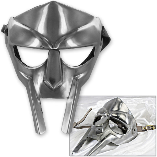 MF Doom Gladiator Mask Madvillain 18g Mild Steel Face Armor