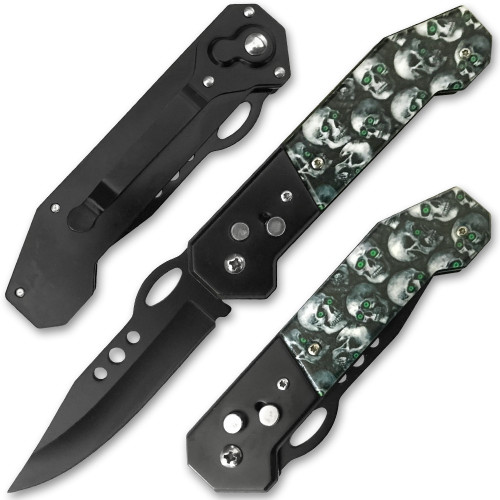 Skull Automatic Knife
