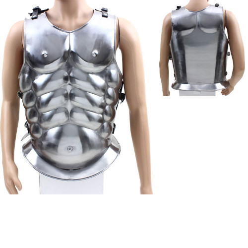 Roman Gladiator Muscles Armor Conquerors Pride Plate Armour 300 Greek Silver