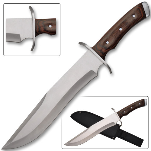 Essential Bowie  Hunting Knife Full Tang ,