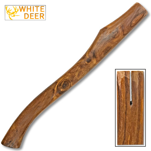 "20"" Cocobolo Wood Handle for Axe Make your Owen Handle"