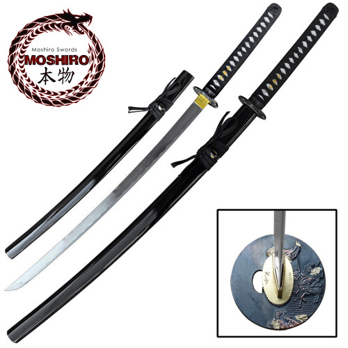 MOSHIRO 1045 High Carbon Steel  Katana