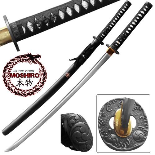 MOSHIRO Deluxe 1045 High Carbon Steel  Katana