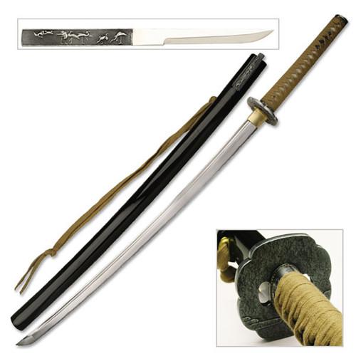 Hand Forged  Samurai Katana Sword  Blood Grove Blade