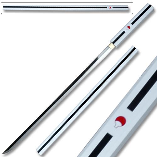 Hand Made Sasuke Kusanagi Steel Ninja Sword Katana Cosplay Straitblade