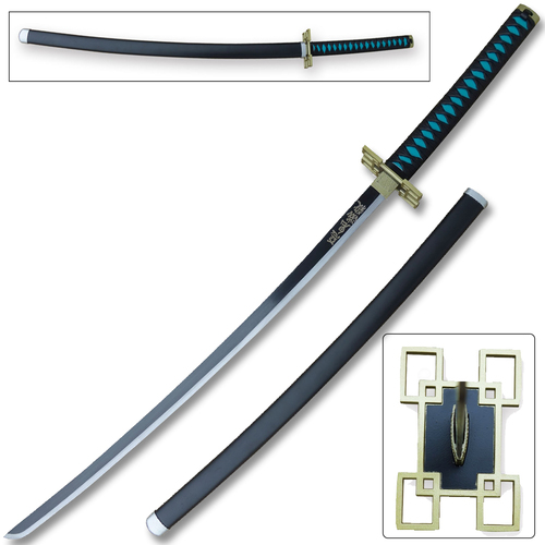Demon Slayer - Muichiro Tokito White Nichirin Sword Katana Metal