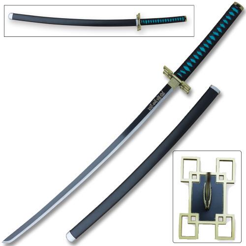 Demon Slayer - Muichiro Tokito White Nichirin Sword Katana Metal